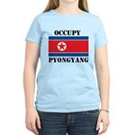 Occupy Pyongyang Women's Light T-Shirt