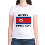 Occupy Pyongyang Jr. Ringer T-Shirt