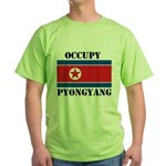 Occupy Pyongyang Green T-Shirt