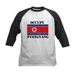 Occupy Pyongyang Kids Baseball Jersey