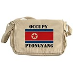 Occupy Pyongyang Messenger Bag