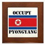 Occupy Pyongyang Framed Tile