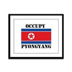 Occupy Pyongyang Framed Panel Print