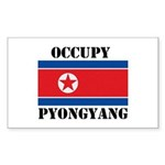 Occupy Pyongyang Sticker (Rectangle)