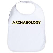 Archaeology Bright Bib