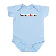 Dominique loves me Infant Creeper