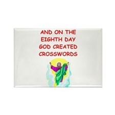 crosswords Rectangle Magnet
