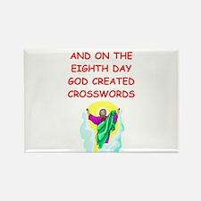 crosswords Rectangle Magnet