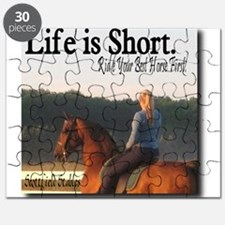 Cute Horse girl Puzzle