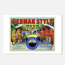 Minnesota Beer Label 1 Postcards (Package of 8)