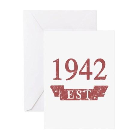 Established 1942 Greeting Card