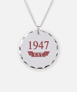 Established 1947 Necklace