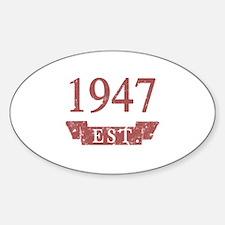 Established 1947 Decal