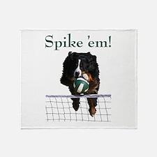 Spike 'em! Throw Blanket