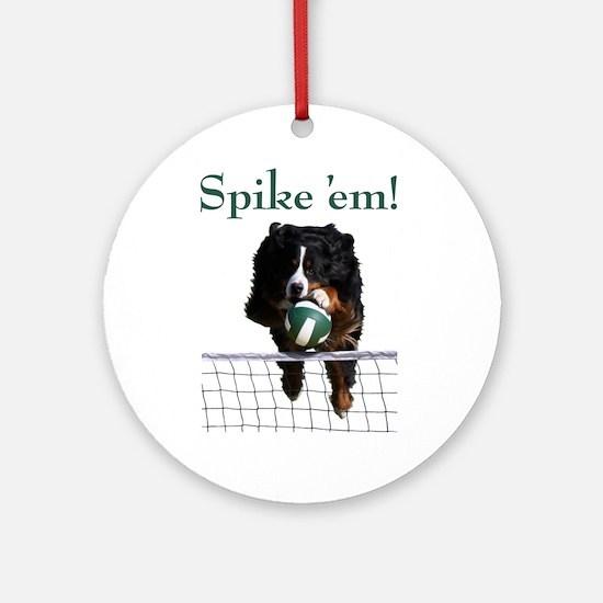 Spike 'em! Ornament (Round)