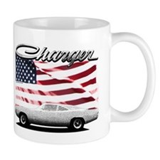 Charger USA flag Mugs