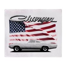 Cute 69 dodge charger Throw Blanket