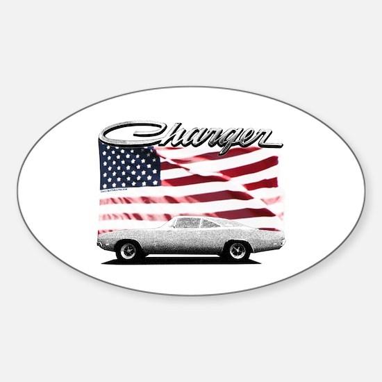 Funny Dodge Sticker (Oval)