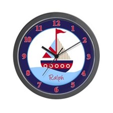 Little Sailboat Wall Clock - Ralph
