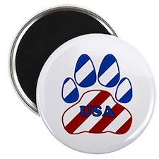 USA Paw Magnet