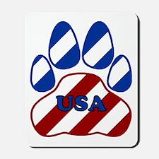 USA Paw Mousepad