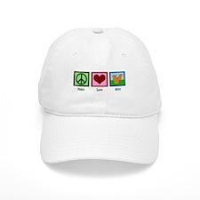Peace Love Mice Baseball Cap