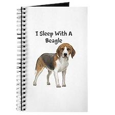 I Sleep With A Beagle Journal