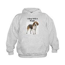I Sleep With A Beagle Hoodie