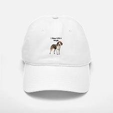 I Sleep With A Beagle Baseball Baseball Cap