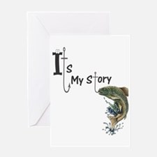 It's my Fish Story Greeting Card