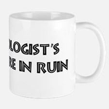 Archaeologists careers are in Mug