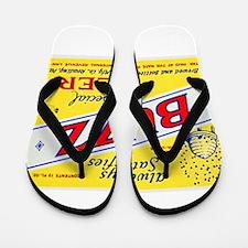 Pennsylvania Beer Label 3 Flip Flops
