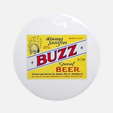 Pennsylvania Beer Label 3 Ornament (Round)