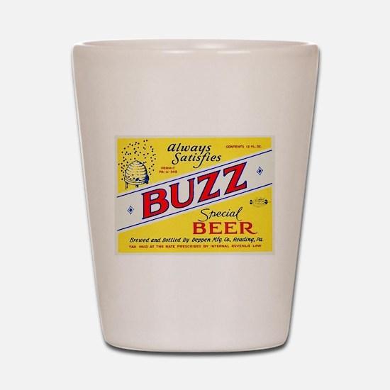 Pennsylvania Beer Label 3 Shot Glass