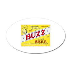 Pennsylvania Beer Label 3 22x14 Oval Wall Peel