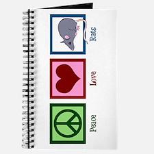 Peace Love Rats Journal