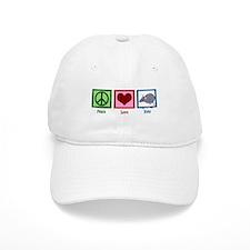Peace Love Rats Baseball Cap