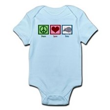 Peace Love Rats Infant Bodysuit