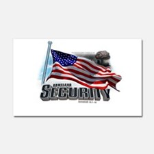Homeland Security Car Magnet 20 x 12
