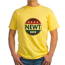 Newt for President 2012 T