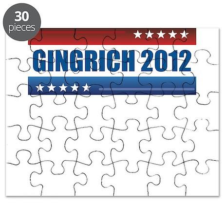 Newt Gingrich 2012 Puzzle