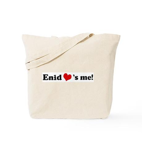 Enid loves me Tote Bag
