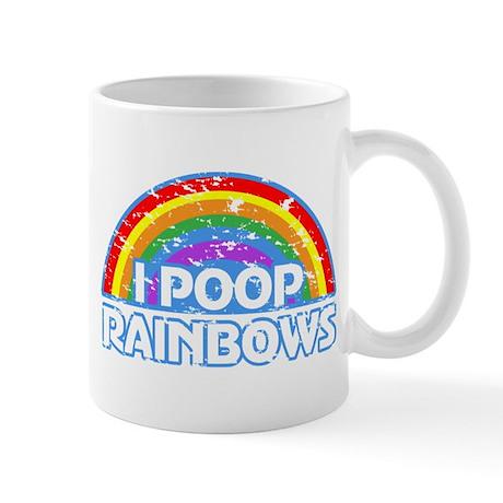 I Poop Rainbows Mug