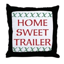 Home Sweet Home Throw Pillows