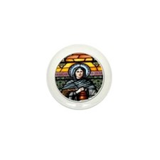 St. Salome Stained Glass Window Mini Button