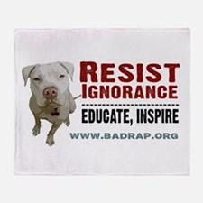 Resist Ignorance - Educate, Inspire Blanket