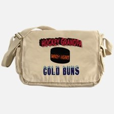 HOCKEY GRANDPA Messenger Bag