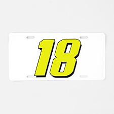 KB18yw Aluminum License Plate