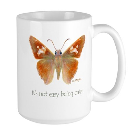 cute butterfly Large Mug