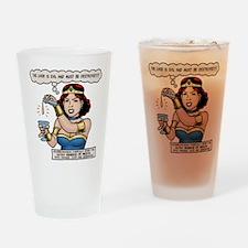 Stumblewoman - Evil Liver Drinking Glass